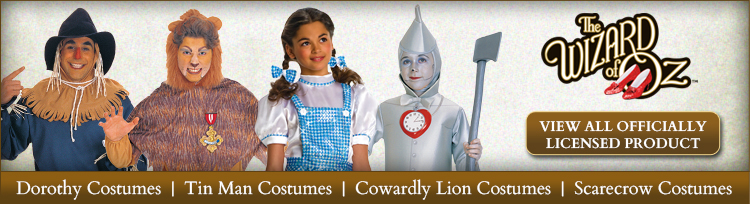 Officially Licensed Wizard of Oz Product